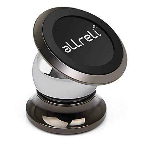 aLLreli Handyhalterung Magnet, Universal Auto Halterung KFZ Halter für iPhone SE/8/7 /6s /6, Samsung Galaxy S7 /S8 /S6, Huawei und jedes andere Smartphone oder GPS-Gerät