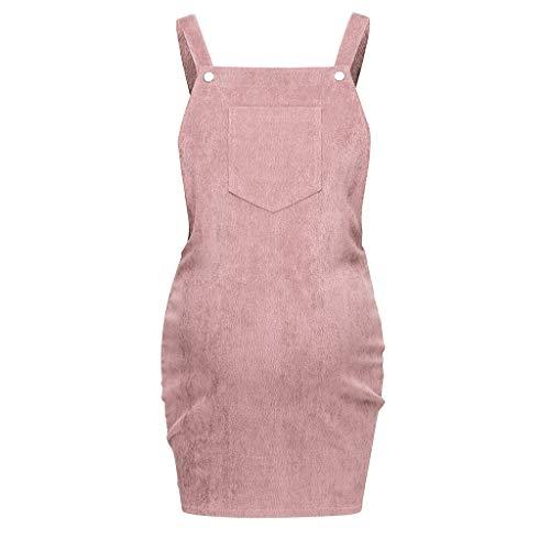 Damen Umstandskleid Camisole-Kleid Röcke,Frauen Schwanger Mutterschaft Pflege Solides Stillen Röcke Ärmellos Kleid Camisole-Kleid Mutterschaft Abendkleider Für Schwangere Sommerkleider