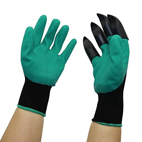 Gants de jardin avec Fingertips Griffes for Dig usine de jardinage Gants Plantation Élagage Rose Mitaines Creuser Gants