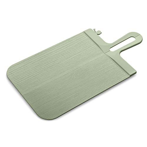 koziol Schneidebrett Snap S, Kunststoff, eucalyptus green , 33.1 x 16.6 x 0.5 cm