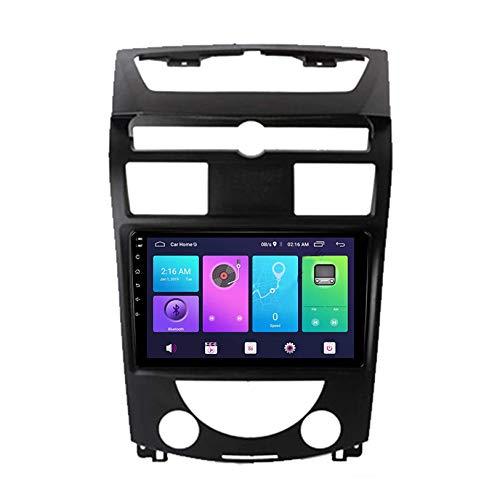 Autoradio Navigatore Android 9.0 Unità principale di navigazione GPS per auto RDS Stereo Multimedia Player Radio con inversione di visione complessiva a 360 °, per SsangYong Rexton 2007-2016, S4