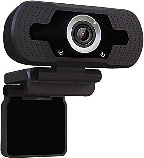 RNSSEZ ウェブカメラ [2021最新のデザイン] ブラック フル HD 1080p レンズ WEBカメラ 会議用カメラ マイク内蔵 自動フォーカス ウェブカム ストリーミング 小型 シンプル設計 用 Windows 2000 / XP /...