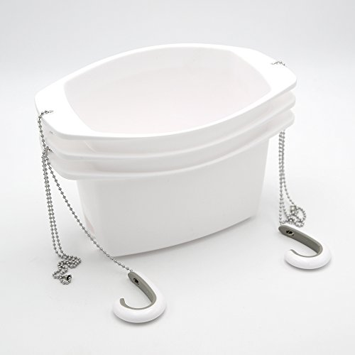 Umbra 023922-660 Étagère de douche Oasis en plastique Blanc