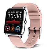 donerton smartwatch donna, 1.4'' orologio fitness tracker smart watch sonno cardiofrequenzimetro, ip67 impermeabile sportivo activity tracker contapassi, smartband notifiche messaggi per android ios