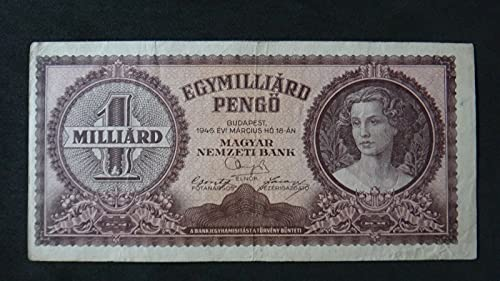 Billete Hungría 1 Milliard Pengo Billete XF 1946 NO Reserva (Hobbies y Juegos)