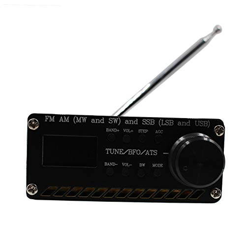P Prettyia SI4732 FM Am MW Y SW SSB (LSB Y USB) Receptor de Radio Salida de Audio de 3,5 Mm