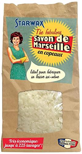 STARWAX FABULOUS Savon de Marseille en Copeaux - 750g - Idéal pour Fabriquer sa Lessive Maison