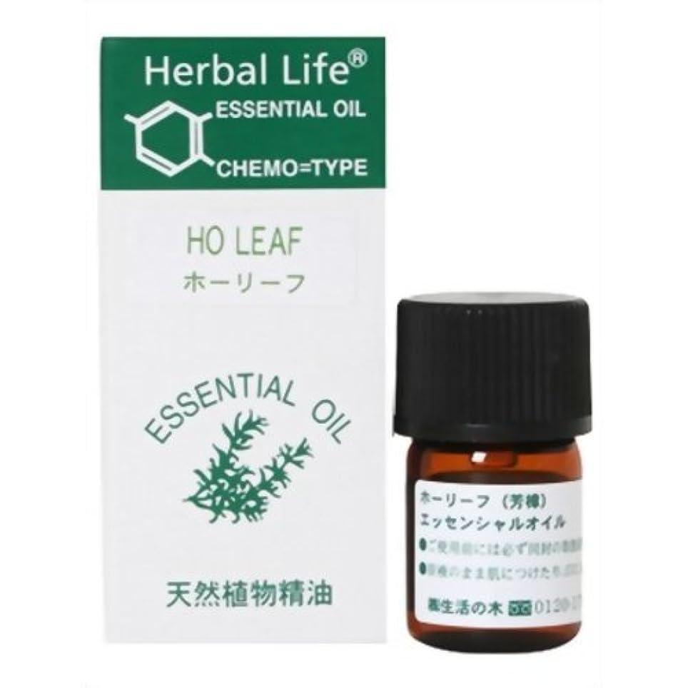 スポット乱暴な入口生活の木 Herbal Life ホーリーフ 3ml