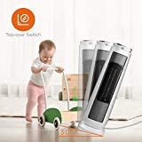 Photo #5: Pelonis Space Heater Ceramic Tower 1500W Indoor Space Heater with Oscillation