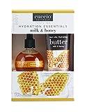 Cuccio Milk and Honey Hydration Essentials, aceite de cutícula de 73 ml y mantequilla de 4 onzas