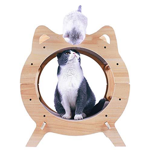 BCCDP Rascador para Gatos de Cartón Sofá de Juguete para Gatos Juguete Cat Scratch Guards Corrugado Sofá para Gatito Doble Cara Resistente Arañazos para Gatitos Pequeños Grandes
