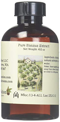 OliveNation Pure Banana Extract, 4 Ounce