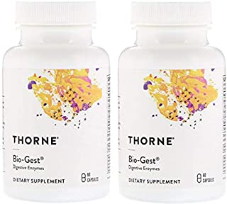 Bio-Gest - Thorne Research - 60 Vegetarian Capsules (Pack of 2)