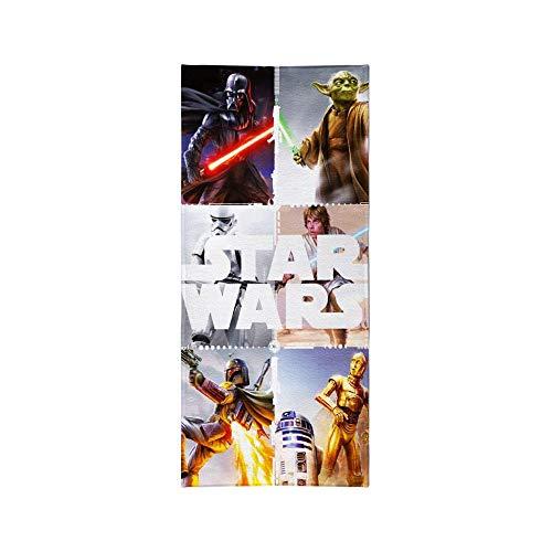 Textil Tarragó Star Wars Toalla de Piscina, Algodón, Multicolor, 30x40x3 cm