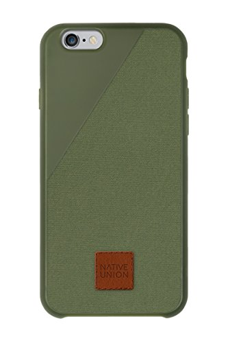 Native Union CLIC3606OLIVE Custodia per iPhone 6, Olive