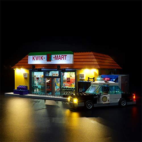 BRIKSMAX Led Beleuchtungsset für Simpsons, Kompatibel Mit Lego 71016 Bausteinen Modell - Ohne Lego Set