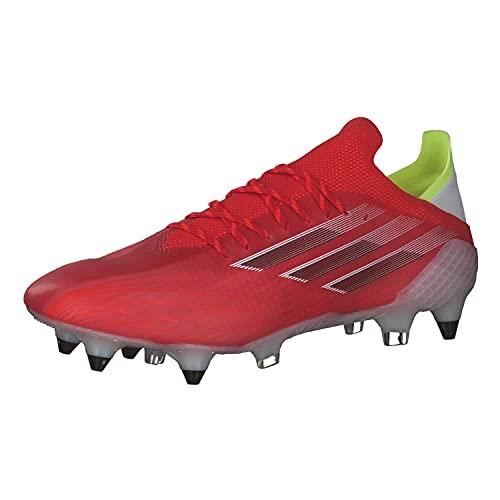 adidas X SPEEDFLOW.1 SG, Zapatillas Deportivas Unisex Adulto, Rojo/NEGBÁS/Rojsol, 40 2/3 EU