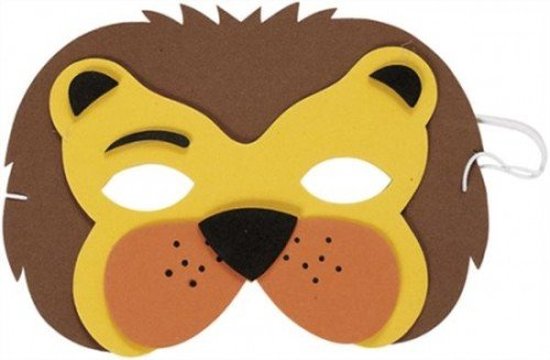 Lion Mask (eva Soft Foam) for Fancy Dress