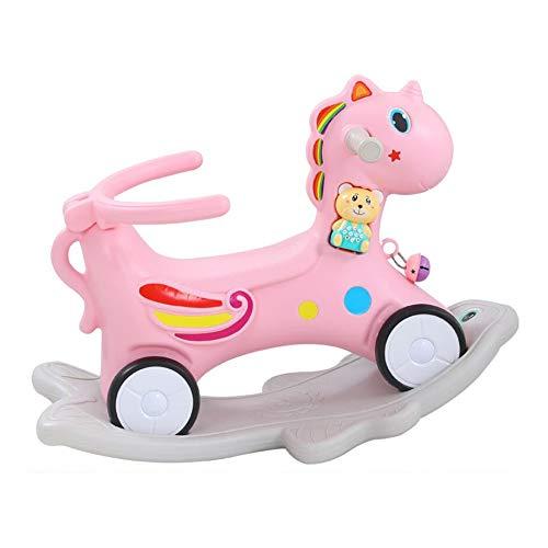 YUMEIGE hobbelpaard Rocking Pony, milieuvriendelijke materialen, Peuter Rocking Horse, Kid Rocking Toy, for 1-3 jaar gebruik, Rockers & Ride-ons, Children's Swing Toys, Exercise Balance