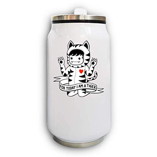 Today I Am A Tiger Thermal Beverage Can thermoskan