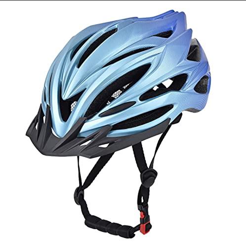 Casco de Bicicleta Casco de Ciclismo Casco Bicicleta Adulto Montaña Visera y Forro Desmontable Cascos Bicicleta Carretera para Hombres Mujeres Adultos (57-62 CM)