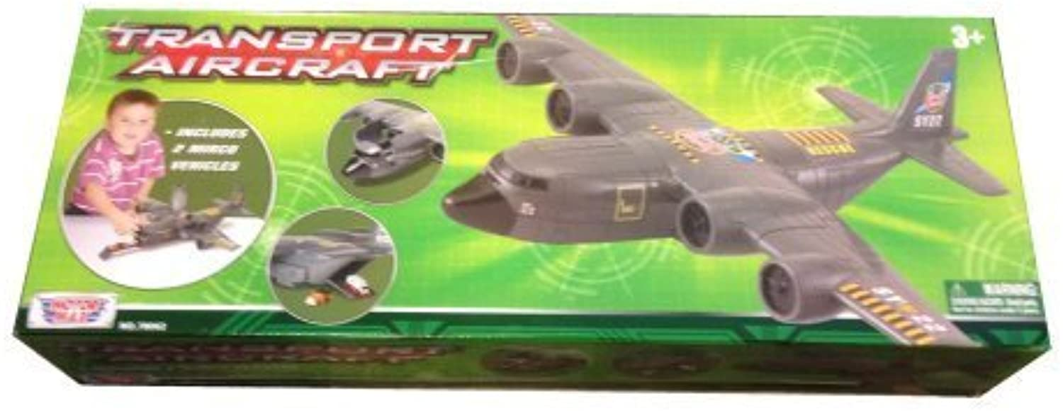 Military Transport Plane Play Set - 18 long by Motormax