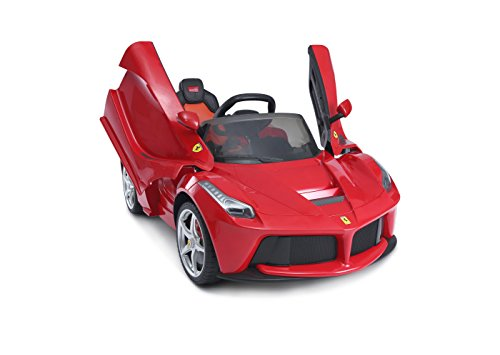 Ferrari R/C Elétrica 12V Bandeirante Vermelho