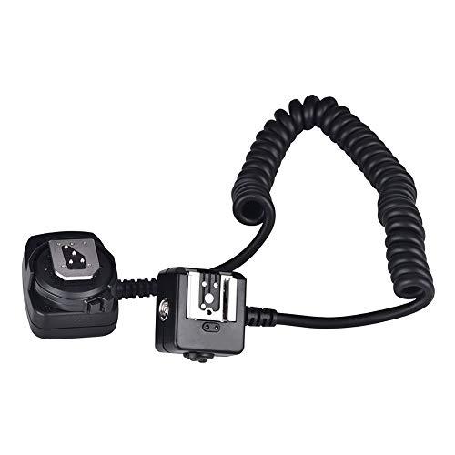 Sxhlseller Cable Fuera la Cámara, Cable Extensión TTL Resistente y Duradero de...