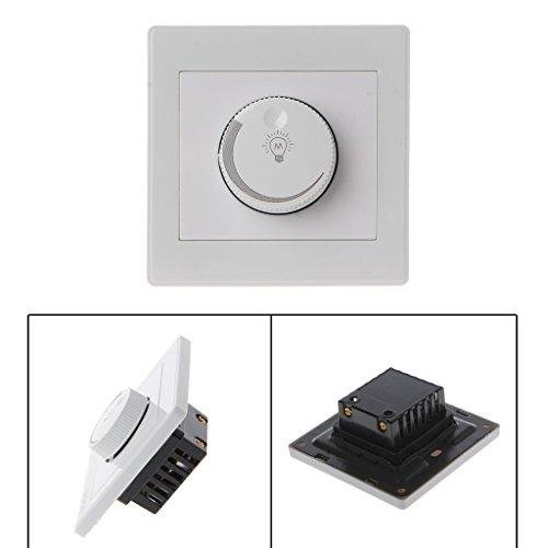 BIlinli 1 UNID 220 V Regulador de Brillo Ajustable del regulador de Intensidad de luz para lámpara de filamento