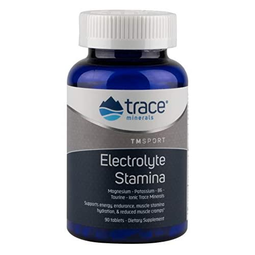 Trace Minerals Research Electrolyte Stamina Tablets, Pack of 90
