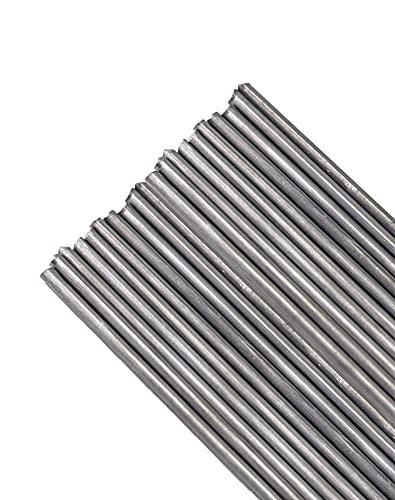 QWORK Welding Rods, Diameter 1/8 inch Aluminum Brazing/Welding Rods, 20 Rods