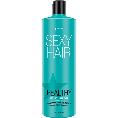 7. SEXY HAIR Healthy Moisturizing Shampoo, 33.8 Fl Oz
