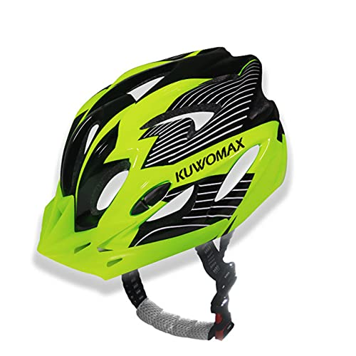 Bicycle Helmets Ultralight Outdoor Bicycle Helmet Cycling Bike Split Helmet Mountain Road Bike Cycling Helmets. -1- Green