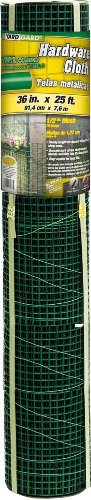 YARDGARD 308259B 36-Inch X 25-Foot Green 1/2-Inch Zinc Coated Mesh Hardware Cloth