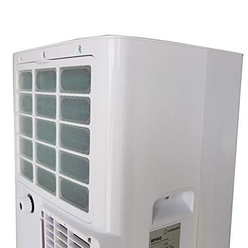 TURBIONAIRE REVIGO Climatiseur Mobile 3en1 avec évacuation extérieure 7000 BTU/h