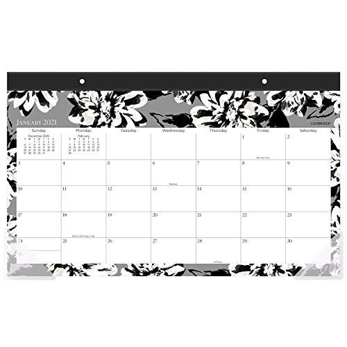 Cambridge 2021 Schreibtischkalender, 43,2 x 27,9 cm, kompakt, Amelia (1460-705-21)