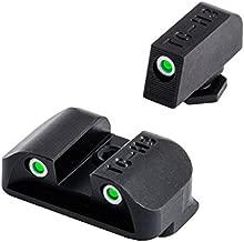 Tritium Handgun Glow-in-the-Dark Night Sights for Glock Pistols, Glock 17, 17L, 19, 22, 23, 24 and more