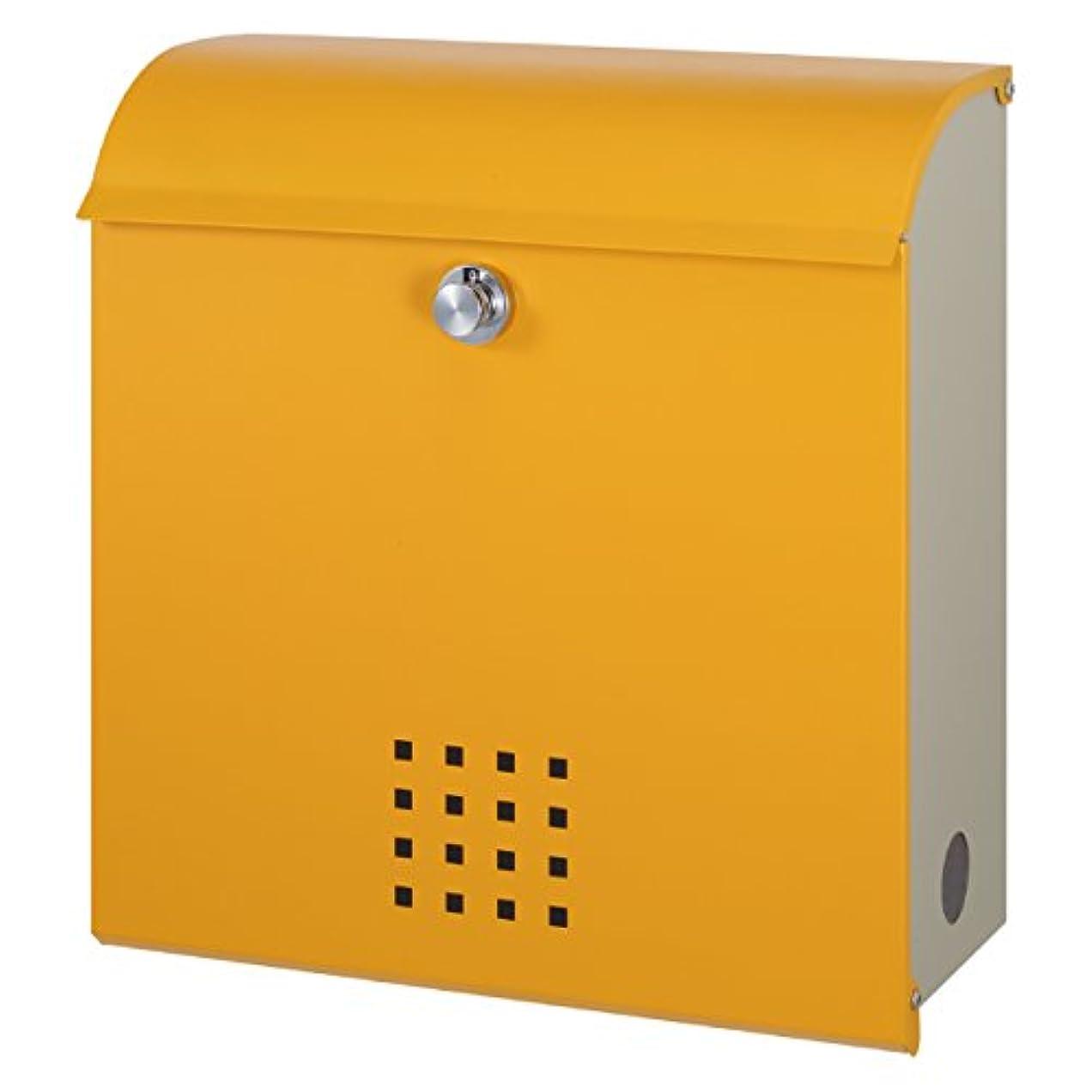 ダンス合法リル丸三タカギ メール便最大サイズ対応可能 大容量郵便ポスト(郵便受け) クレポス オレンジ(CR-3)