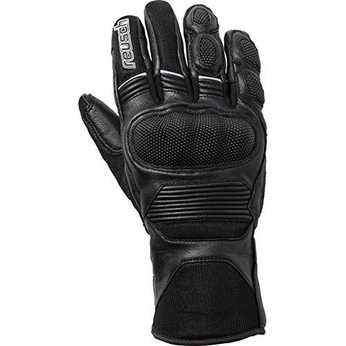 Reusch Motorradhandschuhe kurz Motorrad Handschuh Touren Lederhandschuh 1.0 schwarz 8, Herren, Tourer, Ganzjährig, Kunststoff
