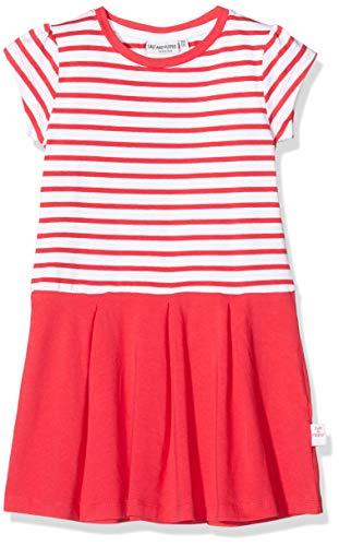 Salt & Pepper Mädchen 03113233 Kleid, Rot (Lollipop Red 344), 116 (Herstellergröße: 116/122)