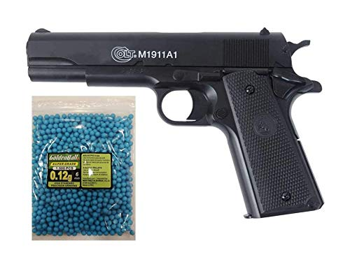 COLT® Lote/Pack NFL Airsoft Pistola 1911 a1 h.p.a. (Joule