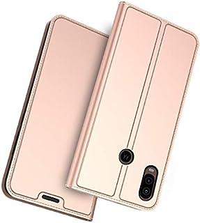 Motorola P40 カバー, Moonmini グリップ バックシェル 緩衝器 ケース の Moonmini Rose Gold