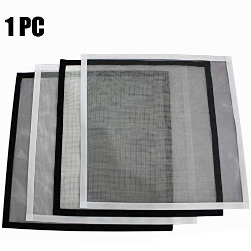 FENGZ anti-muggenraam, zelfklevend, fijnmazig mesh-gordijn met hoge dichtheid, opvouwbaar, eenvoudig te installeren vliegenschermdeur voor schuifdeurraam
