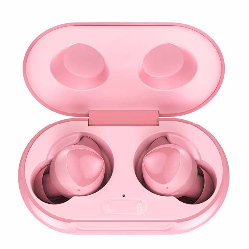 Urbanx Street Buds Plus True Bluetooth Earbud Headphones for Samsung Galaxy A21s - Wireless Earbuds w/Active Noise Cancelling - Pink (US Version with Warranty)