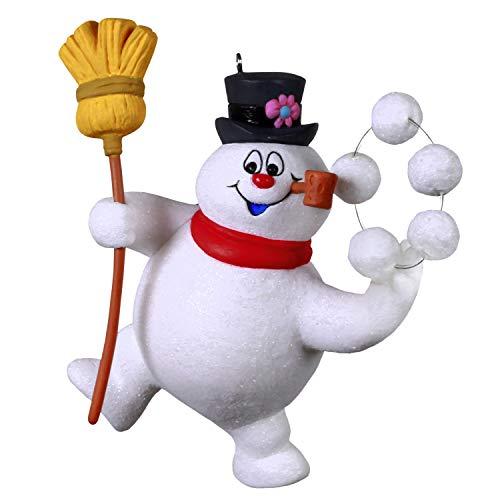 Hallmark Keepsake Christmas Ornament 2020, Frosty the Snowman Snow What Fun!