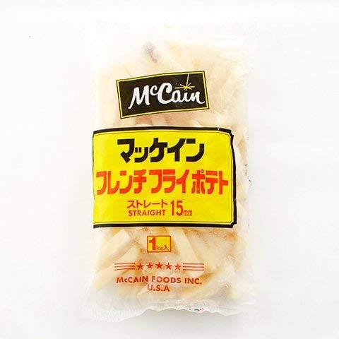 ストレートカット15mm 1kg 【冷凍・冷蔵】 1個