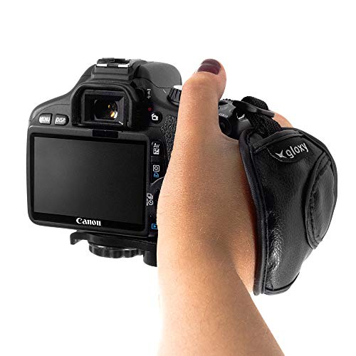 Gloxy Funda para Objetivo fotografico XL Bolsillo Funda cil/índrica Bolsa Protectora con cord/ón Interior Naranja para Objetivos r/éflex Digitales