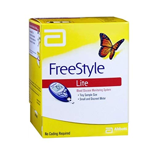 Medidor de glicose sanguínea FreeStyle Freedom Lite da Freestyle Lite