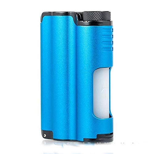 DOVPO Topside 90W Top Fill TC Squonk MOD with 10ml Large Squonk Bottle & 0.96 Inch OLED Screen VS Luxotic BF/Luxotic DF (blue)