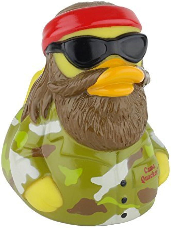 CelebriDucks Camo Quacker RUBBER DUCK Costume Quacker Bath Toy by CelebriDucks